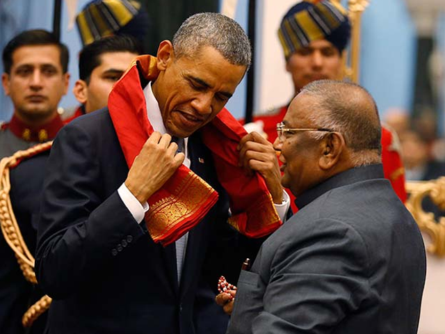 Photo : To President Obama, With Love From India