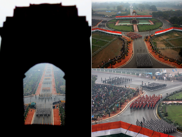 Photo : Republic Day Parade: What Obama and Others Saw