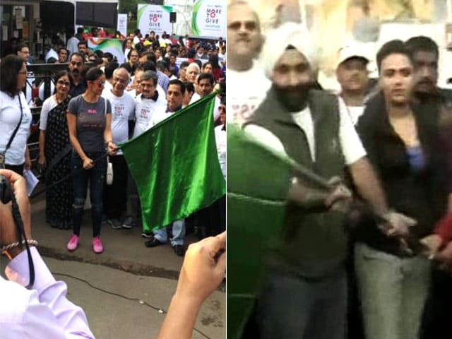 Organ Donation Week: Actors Swara Bhasker, Gul Panag Flag Off The Nationwide  #MoreToGive Walkathon To Urge People To Donate Organs