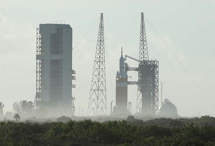Take 2: NASA Launches Unmanned Space Capsule Orion to Mars
