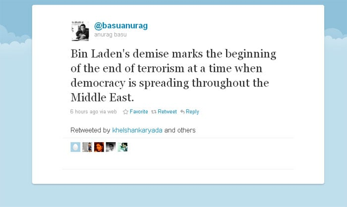 Politicians, celebs tweet about Osama\'s death