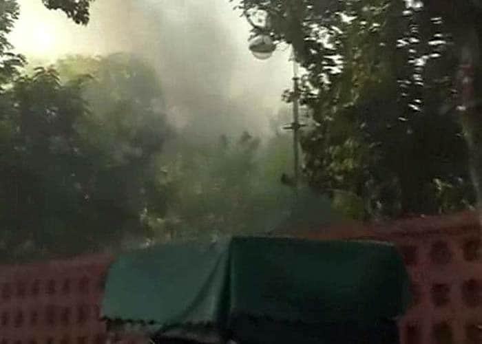 Major Fire Breaks Out at Parliament Premises