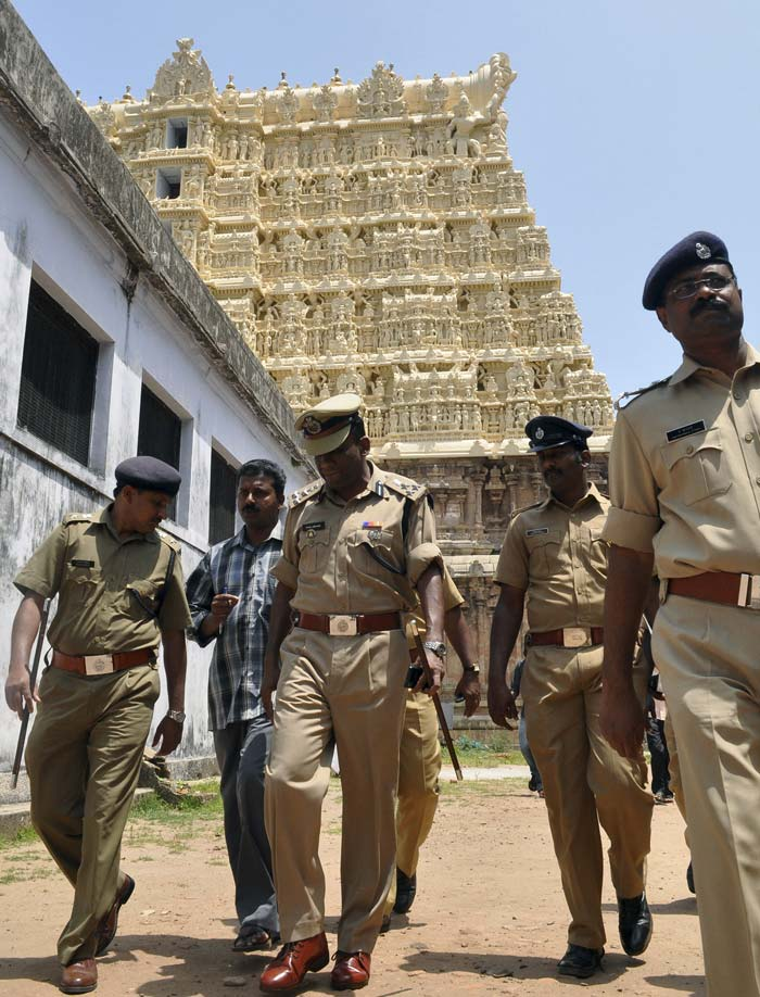 Who should control Kerala temple\'s $22 billion treasure?