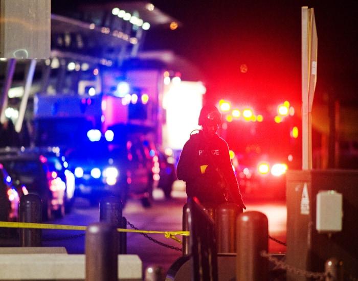 unknown gunman opened fire - 700×550