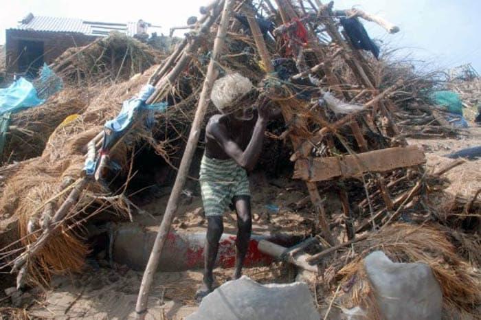 Cyclone Phailin Leaves A Trail Of Destruction