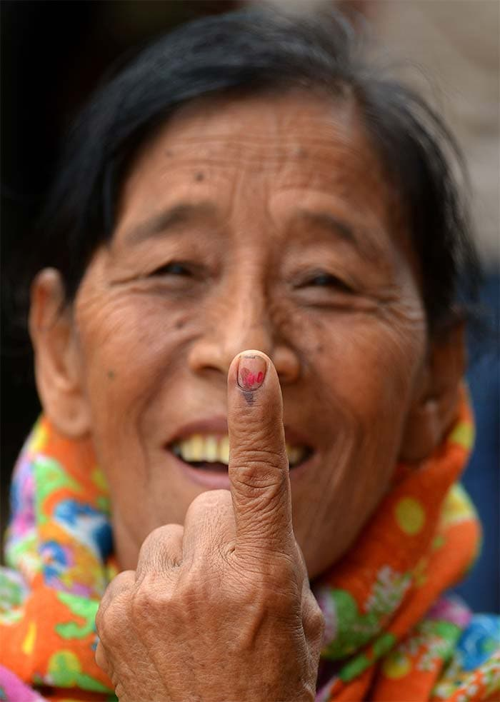 Six seats in North East vote in round two of national election