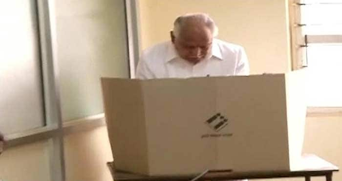 On India's biggest poll day, big players vote