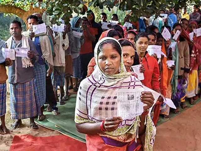 Photo : छत्तीसगढ़ विधानसभा चुनाव 2018 : 70 फीसदी हुआ मतदान