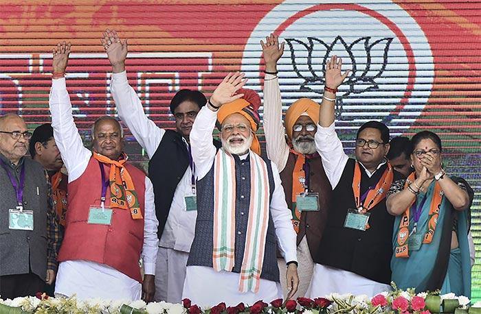 Prime Minister Narendra Modi\'s Lok Sabha Poll Campaign: In Pictures