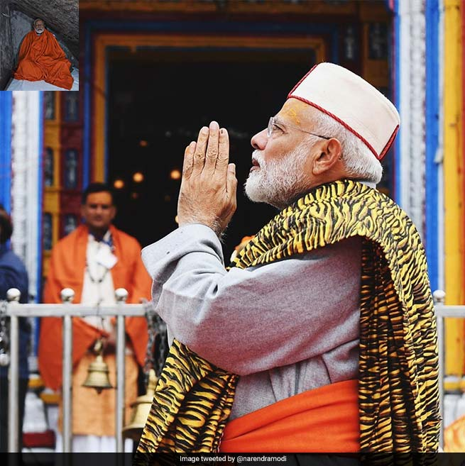 Ahead Of Last Phase Of Polling, PM Modi Visits Kedarnath, Meditates In Cave