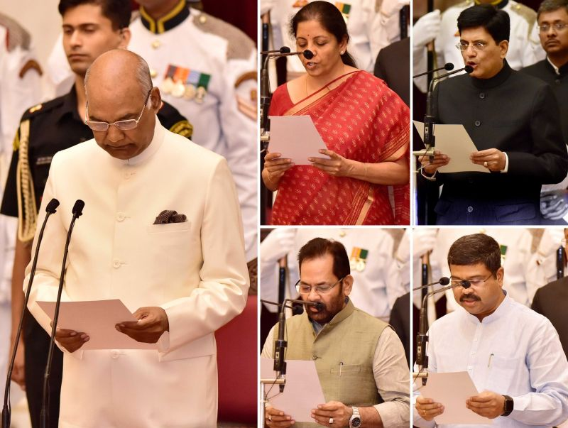 Photo : In Pics: Who Got What After PM Modi's Cabinet Reshuffle