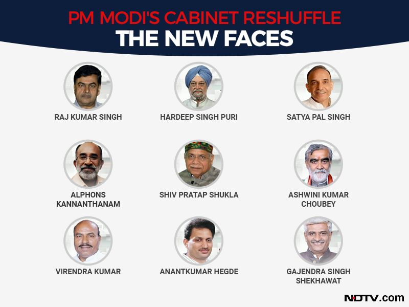 Photo : Prime Minister Narendra Modi's Team 2019: The 9 New Ministers
