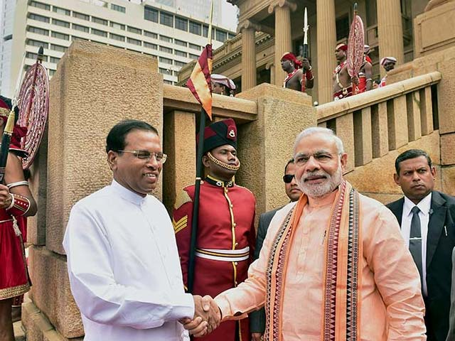 Photo : Prime Minister Narendra Modi's Visit  to Sri Lanka
