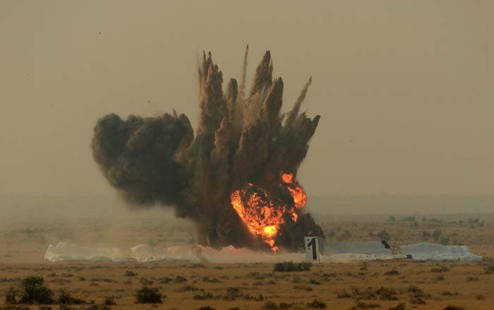 Iron Fist: Air Force shows its firepower in Pokhran
