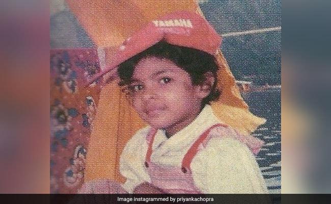 देखें प्रियंका चोपड़ा के बचपन की अनदेखी तस्वीरें...
