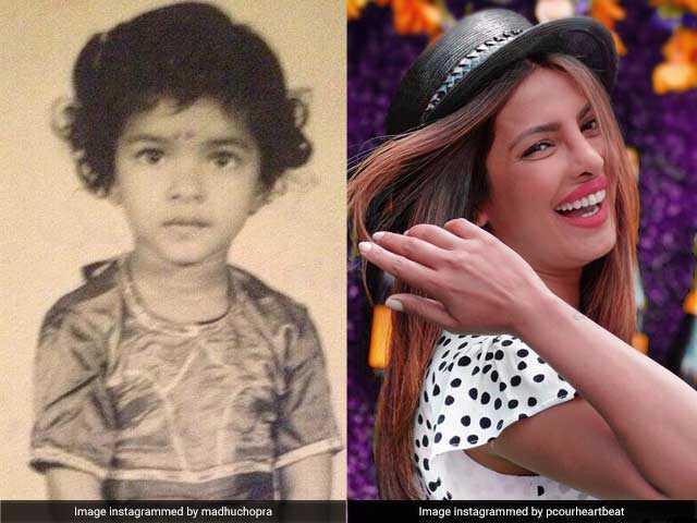 Photo : देखें प्रियंका चोपड़ा के बचपन की अनदेखी तस्वीरें...