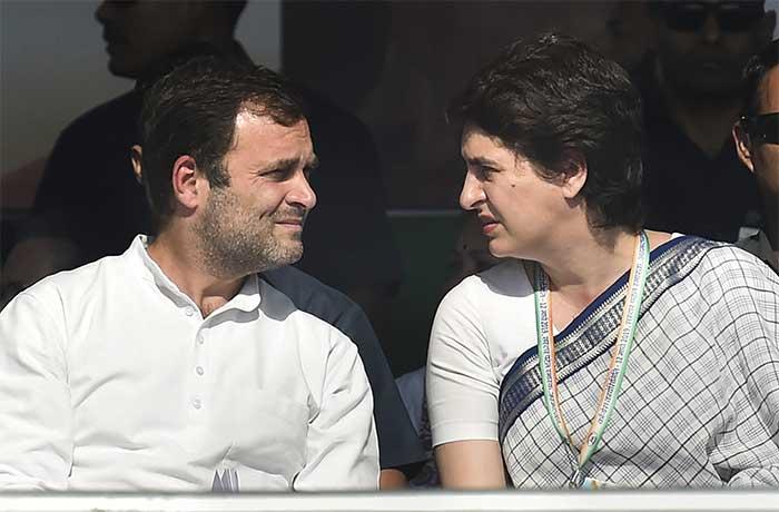 Priyanka Gandhi\'s First Speech At Rally, Big Congress Meet In PM Modi\'s Gujarat