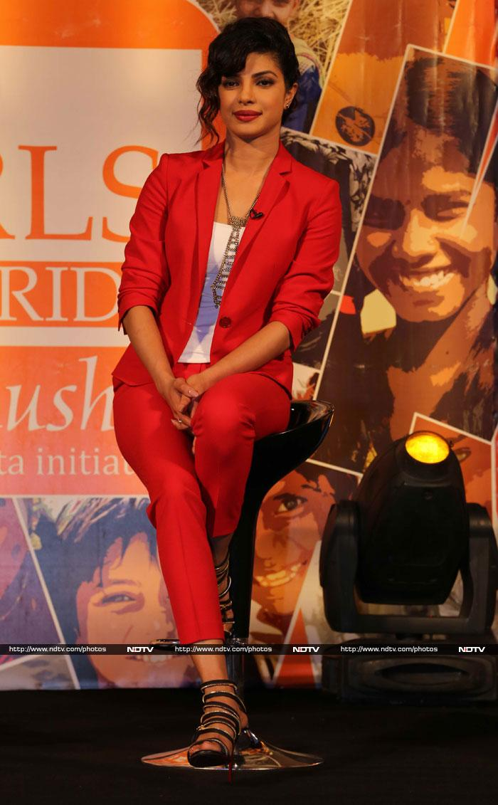 Priyanka Chopra launches campaign for girl child