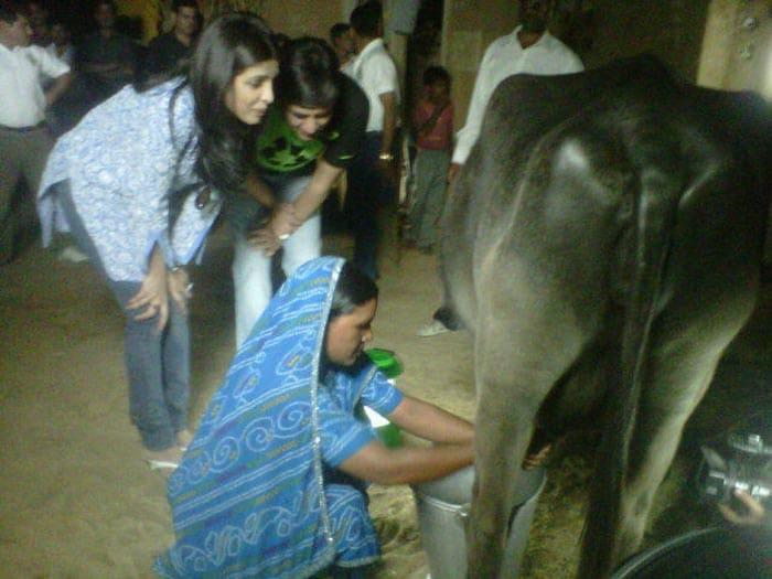 Image result for Priyanka Chopra Milking