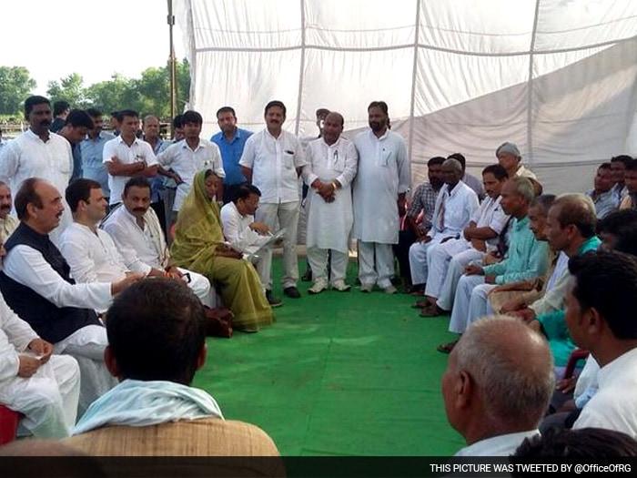 राहुल गांधी ने बिहार रैली की कमान अकेले ही संभाली