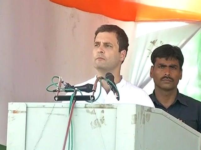 Photo : राहुल ने अकेले संभाली बिहार रैली की कमान