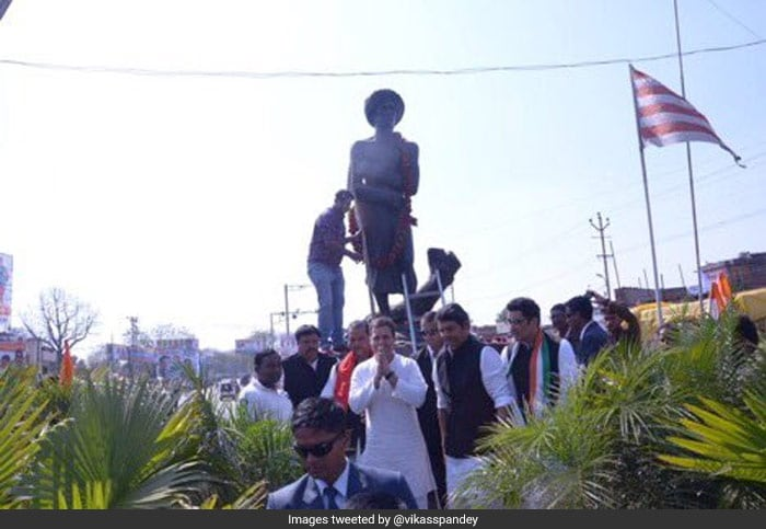 Congress Chief Rahul Gandhi\'s Lok Sabha Poll Campaign: In Pictures