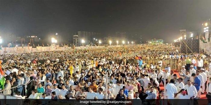 राहुल गांधी ने झारखंड में फूंका चुनावी बिगुल, 'परिवर्तन उलगुलान' रैली को किया संबोधित