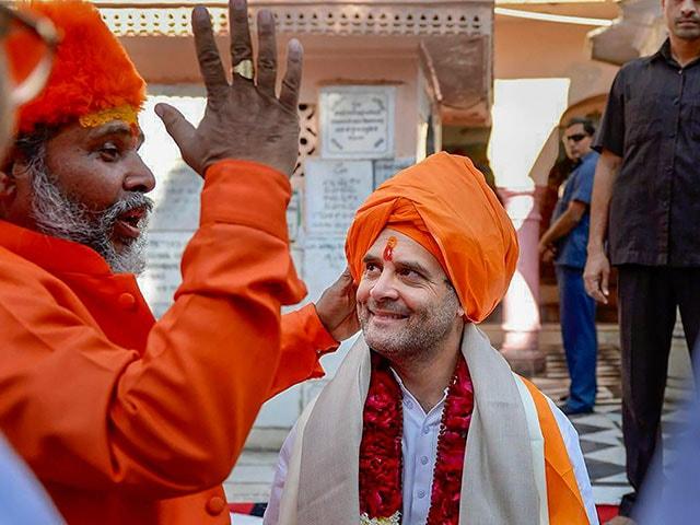 Photo : राहुल गांधी ने ख्वाजा मोइनुद्दीन चिश्ती की दरगाह में जियारत की, पुष्कर के ब्रह्मा मंदिर भी गए