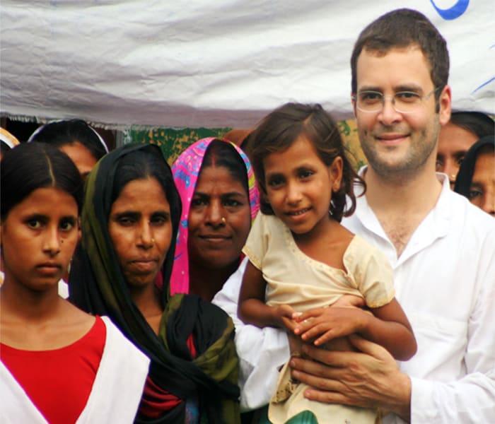 Pics: Rahul Gandhi reaches out