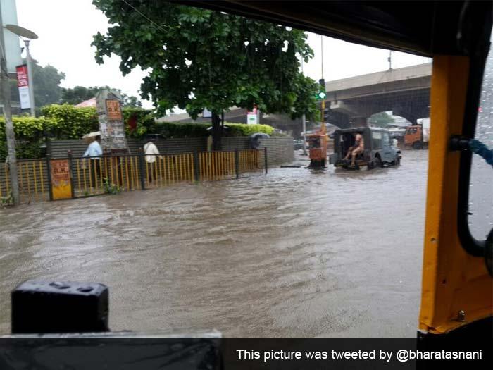 Mumbai rain: Heavy showers lash city