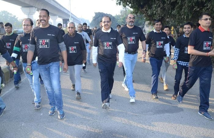 Rajkummar Rao Joins Gurugram Walkathon