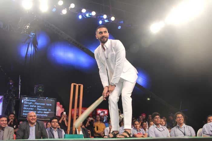 What Happened When Ranveer Singh Challenged Dada on the Pitch