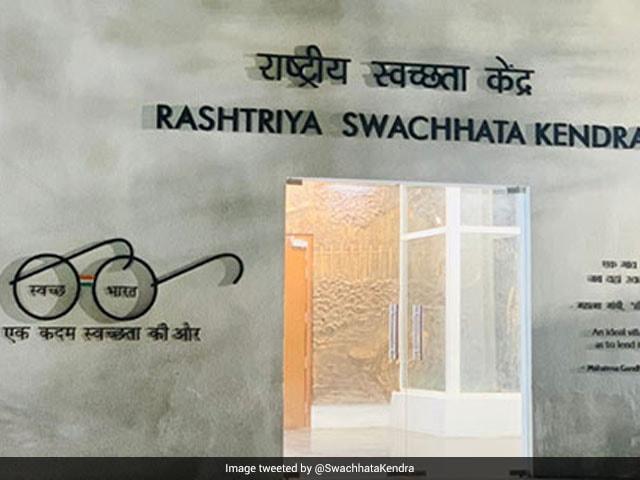 Photo : Prime Minister Narendra Modi Inaugurates Rashtriya Swachhata Kendra, Dedicates It To Mahatma Gandhi's Efforts Towards Cleanliness