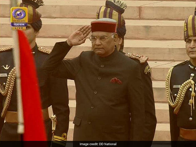 Photo : Republic Day 2018: A Colourful Display Of Culture, Heritage And Tradition