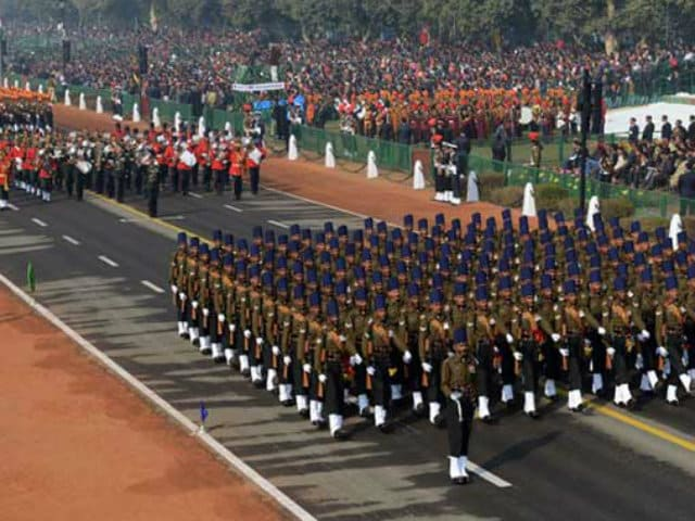 Photo : In Pics: Rajpath Dresses Up Ahead Of 68th Republic Day