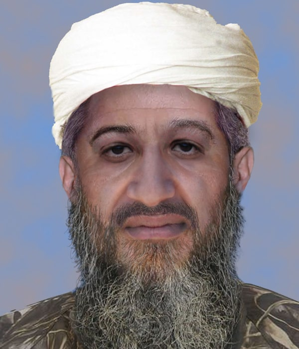 Look again, This could be Osama bin Laden