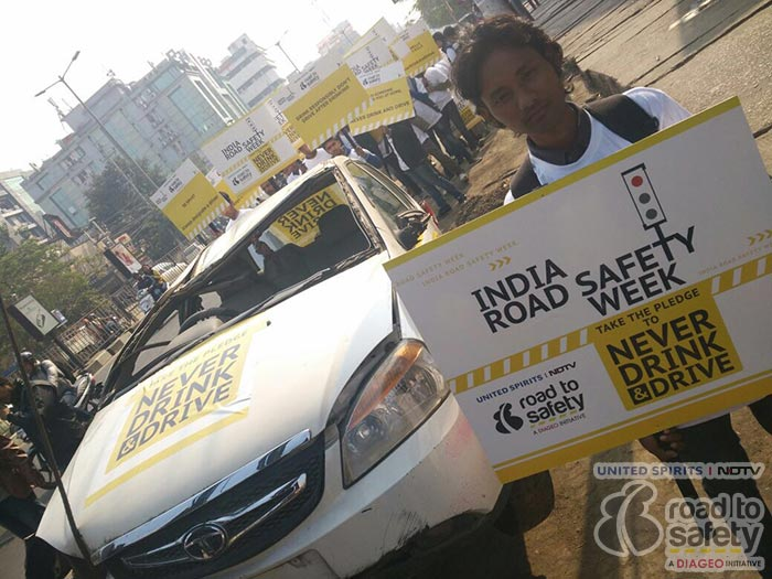 Photo : In Pics: How Guwahati City Police Raised Awareness About Road Safety