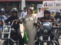 Photo : Kirron Kher Flagged Off A Bike Rally In Chandigarh To Create Road Safety Awareness