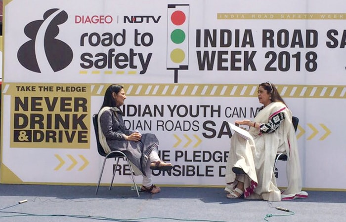 Kirron Kher Flagged Off A Bike Rally In Chandigarh To Create Road Safety Awareness