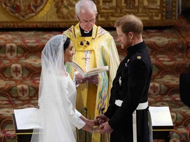 Photo : ब्रिटेन के प्रिंस हैरी और मेगन मर्केल की Royal Wedding, देखिए खास तस्वीरें