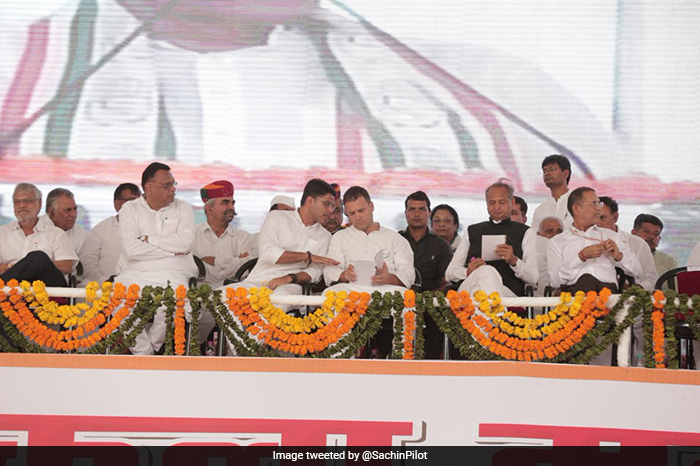 Sachin Pilot\'s Bikaner Rally In Pictures