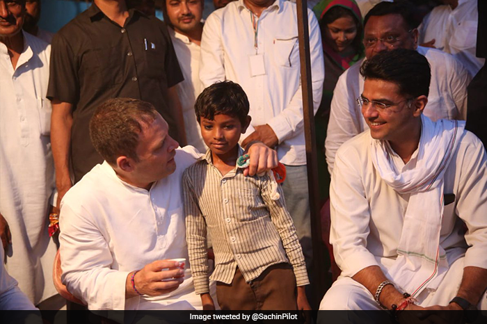 Photo : Sachin Pilot's Bikaner Rally In Pictures