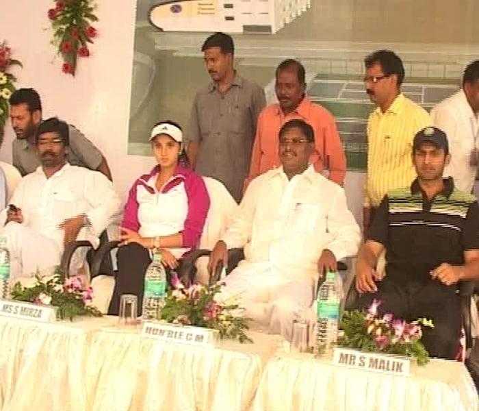 Tennis takes Sania-Shoaib to Ranchi