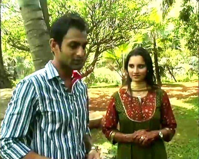 Sania-Shoaib talk to NDTV