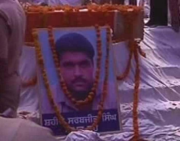 Sarabjit Singh\'s last journey