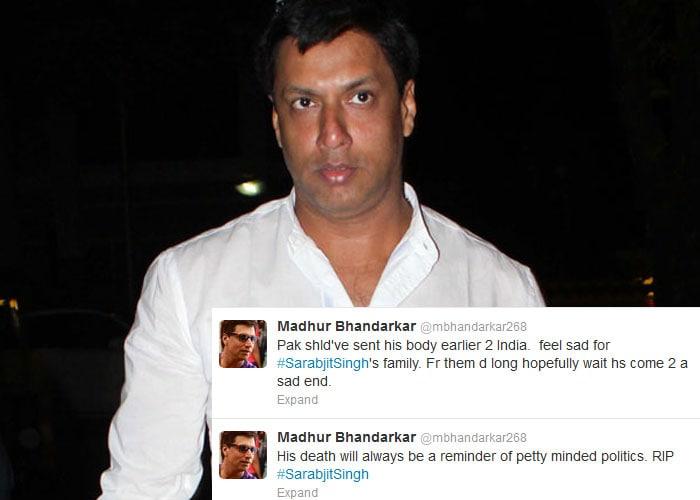 On Twitter, India condemns Sarabjit Singh\'s death