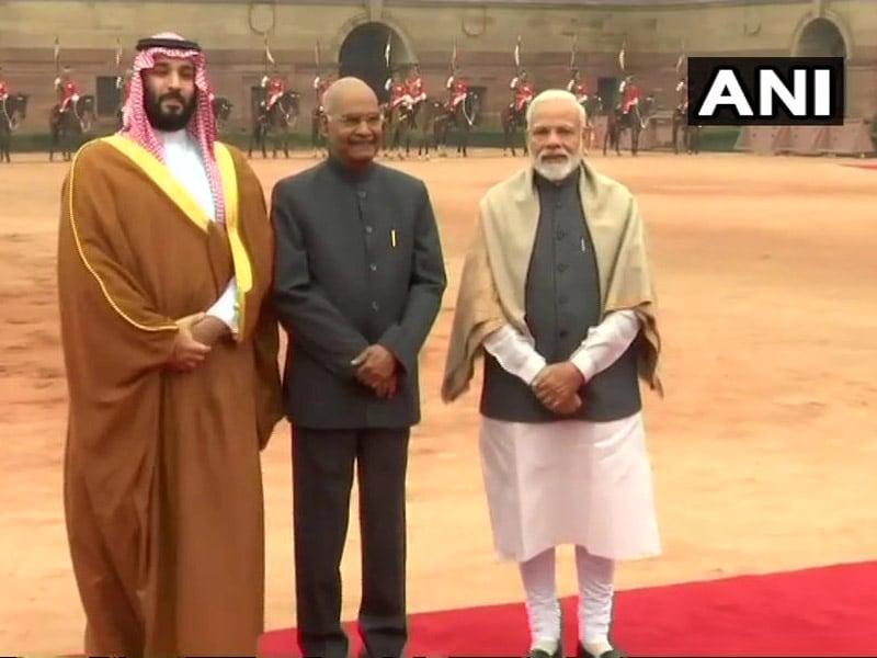 Photo : सऊदी अरब के युवराज सलमान भारत दौरे पर, 5 समझौते पर हुए हस्ताक्षर
