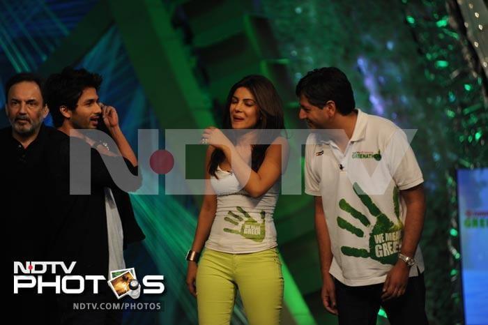 Footloose Shahid Kapur rocks Greenathon 4