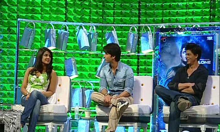 Shahid, Priyanka at Greenathon 3