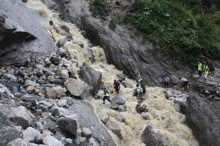 Landslides, heavy rains wreak havoc in Sikkim
